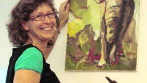 Malerkursus med Bente Stamp